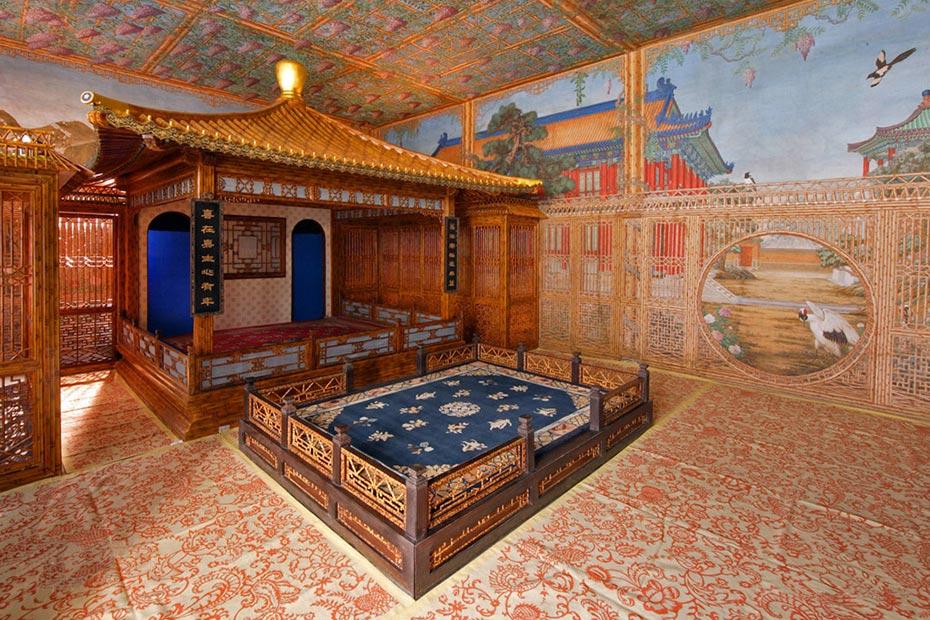 berg lighting design  u2013 qianlong garden interior lighting  forbidden city of beijing  china