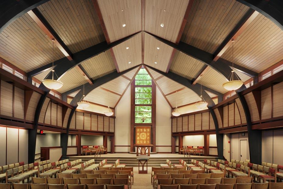 Berg Lighting Design Temple Isaiah Interior